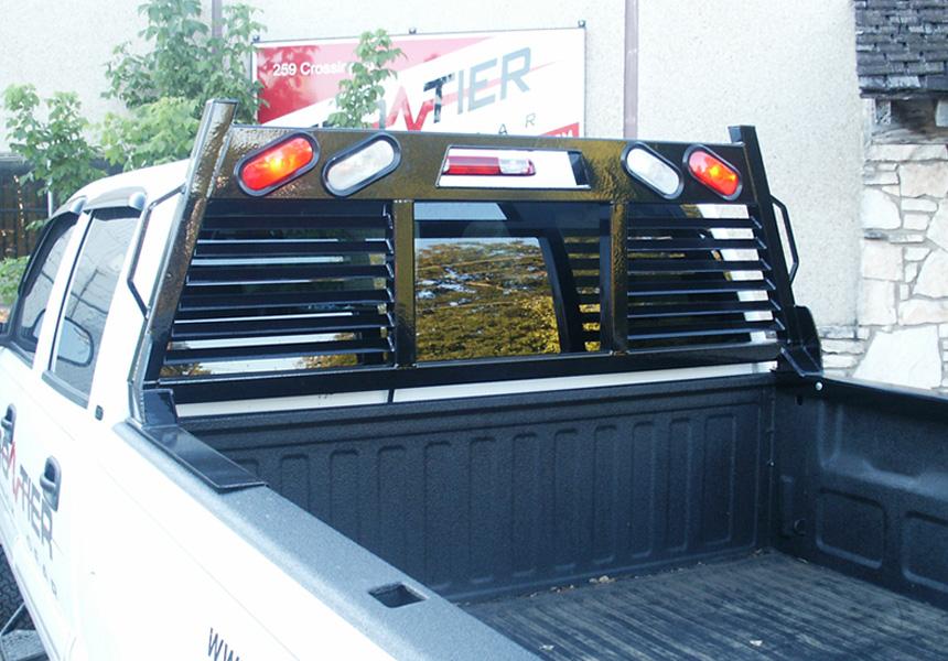 Heavy Duty Rear Window Protection Frontier Truck