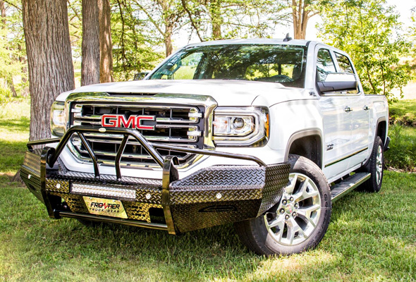 '16 GMC 1500 | Front Bumper Replacements | Frontier Truck ...